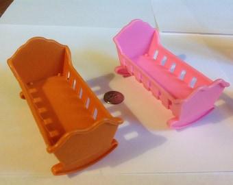 Miniature Dollhouse  Cradles