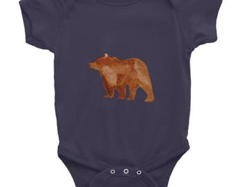 Holla Back Co. Bear Onesie