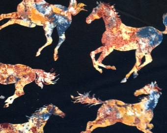 Spirited Horses by Timeless Treasures