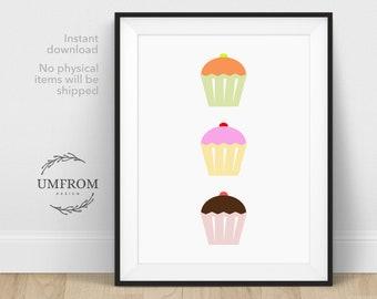 Bakery Decor / Bakery Sign / Bakery Art / Kitchen Wall Decor / Restaurant Decor / Cupcake Wall Decor / Cupcake Decor / Kitchen Decorations