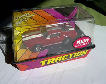 Ho Slot Car Ford Mustang new in box