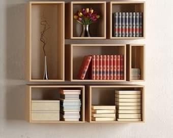 bookshelf,wall decor,bookcase,wall bookshelf,modern bookcase