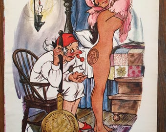 Comic Illustration for Playboy (1969) by Doug Sneyd