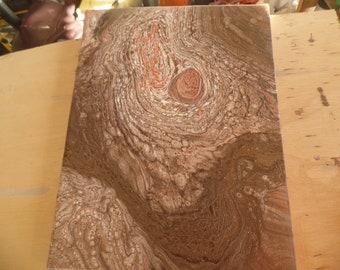 Wood grain look