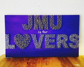 JMU, JMU Dukes, Virginia String Art, JMU String Art, State String Art, College Decor, College Dorm, College Graduation, College Apartment