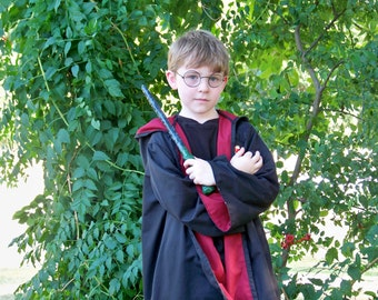 Wizard Inspired Child House Robe Costume - Made to Order