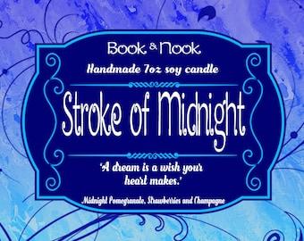 Stroke of Midnight | 7oz jar | Cinderella Scented Soy Candle