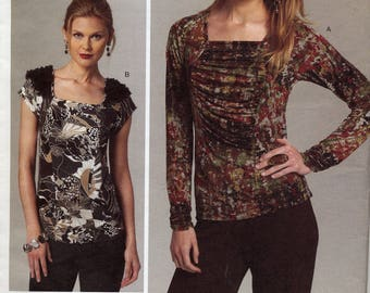 Gathered top or embellished sleeves, Today's Fit, Sandra Betzina, Vogue Patterns Original, v1275, All Sizes