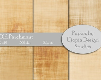 Digital Paper Pack - Old Parchment