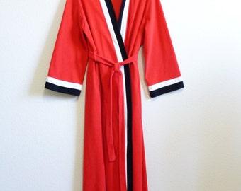 Soft Warm Red Mod Red Robe Medium