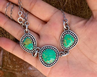 Buried Treasure Turquoise Necklace