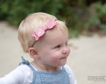 baby headband - baby girl - baby bow headband - baby girl headband - headbands - newborn headband - baby shower - baby bows