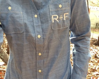 Rodan + Fields, Long Sleeve Woven, Cover Shirt, RF Cover, Rodan + Fields Clothing, R+F