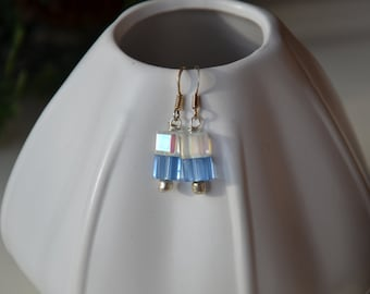 Icy Cubes Earrings