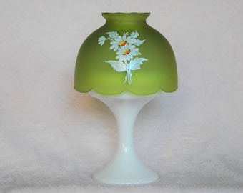 Westmoreland green mist fairy lamp