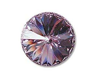 Swarovski Crystal Violet Faceted Rivoli Stone Beads 1122 14mm