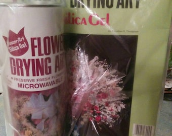Activa Flower Art Silica Gel and Instructions