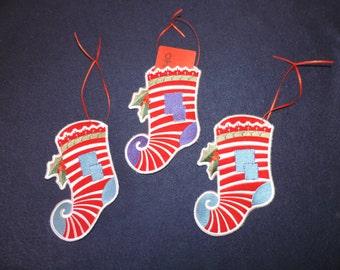 Christmas Stocking Gift Card Holders