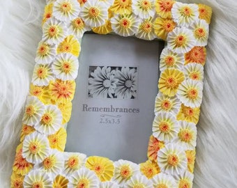 Small Daisies Frame, 2.5 x 3.5in, Remembrances