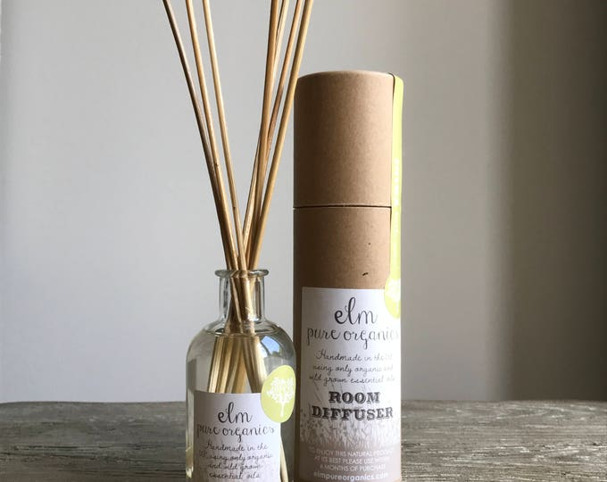 Organic Reed Diffuser. Dakota Meadow. Home Fragrance. Home decor. Eco gift. Handmade Oil Diffuser. Long-lasting. Natural