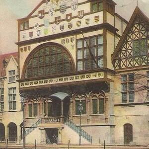 """Carte Postale : """" Exposition universelle de Liege 1905"""""""