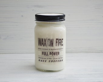 Full Power (Race Fuel Scented) Soy Candle