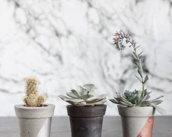 Concrete Planter (Mini Pot) -  Trinket Dish, Plant Pot, Succulent Planter, Home Decor