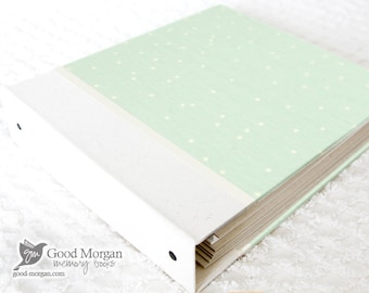 Toddler Memory Book  - Speckled Mint