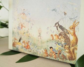 Vintage Molly Brett Fairy Print - Vintage Fairy Illustration