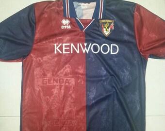 Vintage 90s Genoa FC Jersey