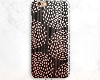 Wood iPhone 8 Case, Wood iPhone 7 Case, Wood iPhone X Case,Dots iPhone 6 Plus, iPhone 7 Plus, Wood iPhone 6 Case, iPhone 5 Case, iPhone 7