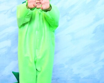 Lime Green Dragon Costume