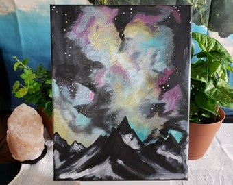 Galaxy moutains