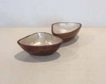 Small Monkeywood Bowls