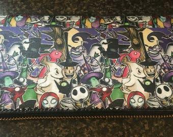 Custom made nigjtmare before christmas inspited purse
