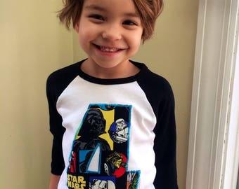 New Custom Star Wars Number T'shirt