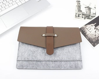 """Felt 11.6"""", 13"""", 15.4"""" Laptop Case, Laptop Sleeve, Laptop sleeve 15.6, Laptop Sleeve 13.3, MacBook Case, MacBook Pro Case, Custom Size 006"""