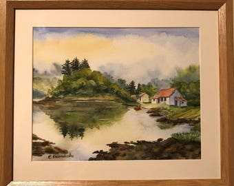 Cottage by the lake