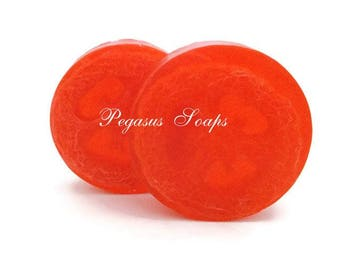 Limited Time Only~Watermelon Loofah Soap ~Bath Soap~Skin Care~Loofah Soap~Glycerin Soap