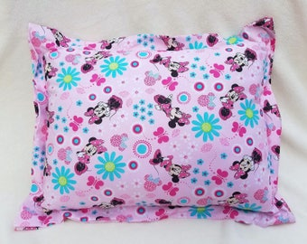 Minnie Mouse, Nap Pillow, Daycare Pillow, Toddler Pillow, Travel Pillow, Throw Pillow, Accent, Minnie Bed Pillow, Girl Pillow, Pink Pillow