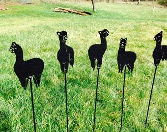 Alpaca Garden Stakes