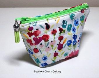 Summer Floral Mini EO Bag