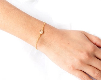 bridal bracelet, gold  bracelet , wedding jewelry, wedding bracelet, peach bracelet, bijoux , silver bridal bracelet, Crystal wedding ,