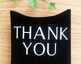 Sophisticated Black Velvet Gift Pillow Boxes