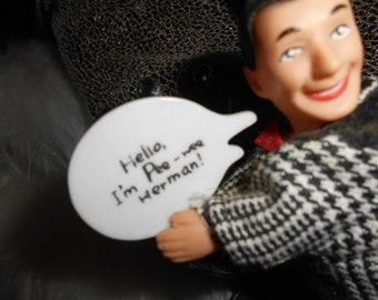 PEE WEE HERMAN Miniature Hugging Doll> Vintage> Original