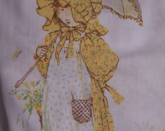 holly hobbie twin sheets