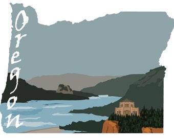 Oregon: Columbia River Gorge