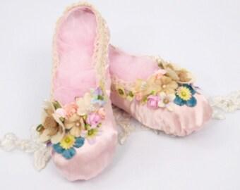 Vintage Fairy-Princess Shoes -Limited Edition-  2 UK, 34 EU, 3 US