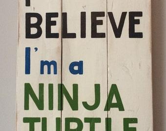 Ninja turtle nursery | Etsy