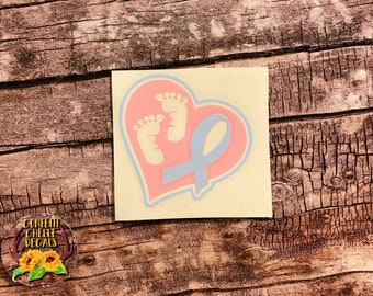 Pregnancy and Infant Loss Decal